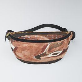 Before the First Snow (Fawn/ White tailed Deer) Fanny Pack