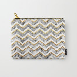 2017 NEW Gold Chevron Carry-All Pouch