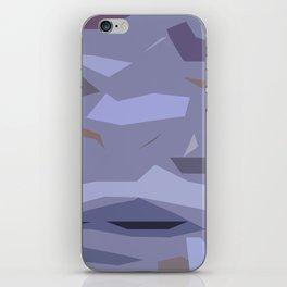 Fragmented Violet iPhone Skin