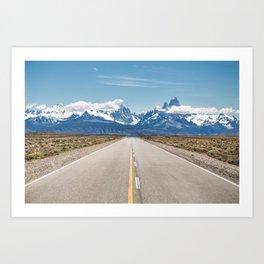 El Chaltén - Patagonia Argentina Art Print
