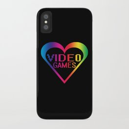 love video games iPhone Case
