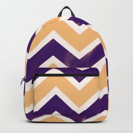 Zig Zag Pattern Summer Backpack