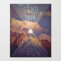 FIND YOUR SELF Canvas Print