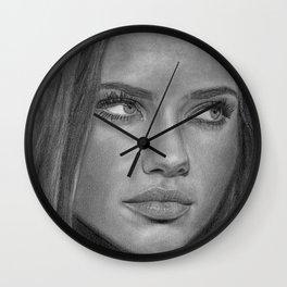 Adriana Lima Wall Clock