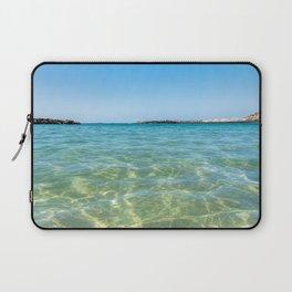 Crystal clear ocean Laptop Sleeve
