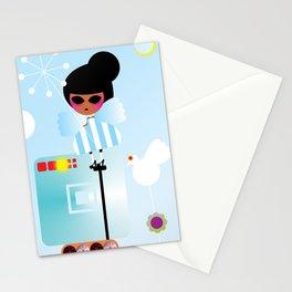 Snow princess Stationery Cards