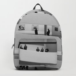 People at Guggenheim Museum Backpack