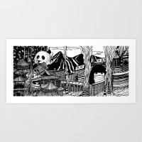 china Art Prints featuring China by Matt Ferguson