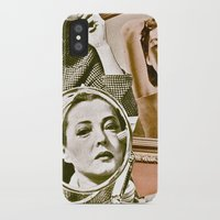 persona iPhone & iPod Cases featuring Persona - collage by Deborah Stevenson Photography