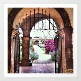 Through the Iron Gate Art Print