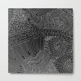 tiny lines Metal Print