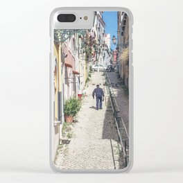 Hilly Lisbon Clear iPhone Case