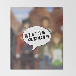 Voltron: What The Quiznak?! Throw Blanket
