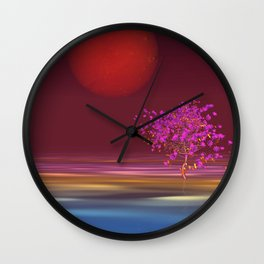peaceful time -10- Wall Clock
