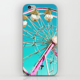 Pastel Ferris Wheel iPhone Skin