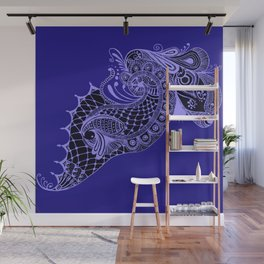 Royal Peacock Wall Mural