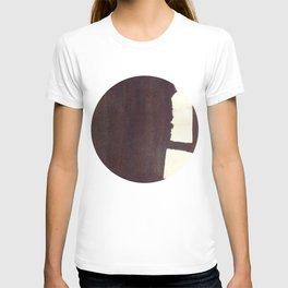 left hand side heavy, match stick T-shirt