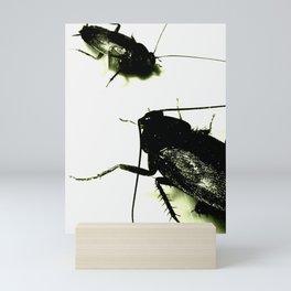 Evil Toxic Cockroaches Mini Art Print