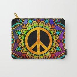 Peace Mandala Carry-All Pouch