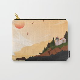 National Parks Poster: Acadia Carry-All Pouch