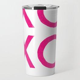 XOXO [Pink] Travel Mug