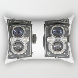 Yashica-Mat twin lens reflex Rectangular Pillow