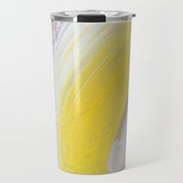 Waves: Lemon Travel Mug