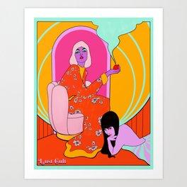 Lust bomb Art Print