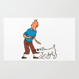 The Adventure of Tintin Rug