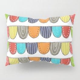 doodle stripes Pillow Sham