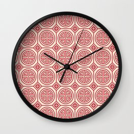 Traditional Chinese Pattern Wall Clock