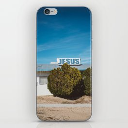 Desert Church iPhone Skin