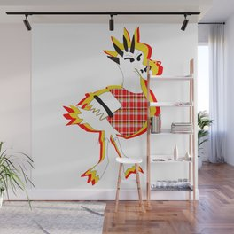 Foul Fowl Wall Mural