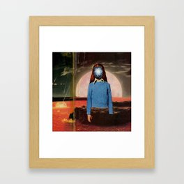 Join Her Framed Art Print