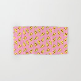 Pizza Pattern By Everett Co Hand & Bath Towel