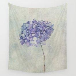 Beautiful Blue Hydrangea Wall Tapestry