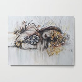 Abeille (bee) Metal Print