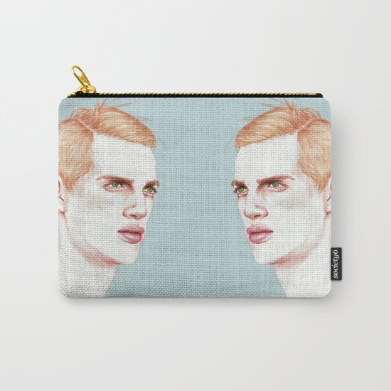 Boy Bruised Carry-All Pouch