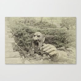 Trample the Troll Canvas Print