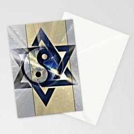 Jewish Yin Yang Stationery Cards