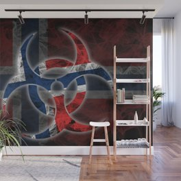 Biohazard Norway, Biohazard from Norway, Norway Quarantine Wall Mural