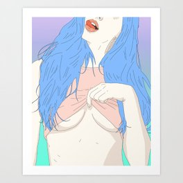 Let Me See Art Print