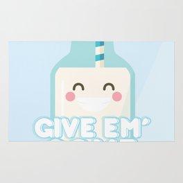 Give Em' Some Milk Rug