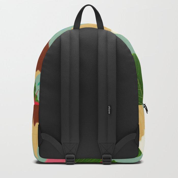 Tropical Ice Cream Backpack