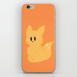 Chibi Fox iPhone Skin