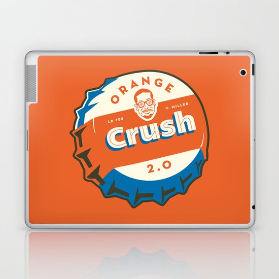 Denver's Orange Crush Defense TWO POINT OH! Laptop & iPad Skin