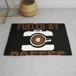 Photographer Fueled By Coffee Caffeine Rug