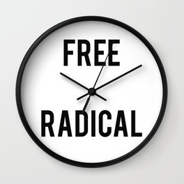 Free Radical Wall Clock