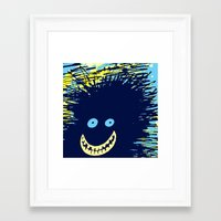 monster inc Framed Art Prints featuring Monster by Take Five