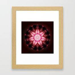 Mandala Feminity Framed Art Print